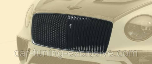 MANSORY chromed lamels grill for Bentley Continental GT / GTC