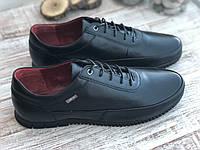 Мужские кожаные туфли 3457 ч размеры 39-45, фото 1