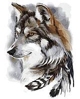 Художественный творческий набор, картина по номерам Вожак, 40x50 см, «Art Story» (AS0169), фото 1