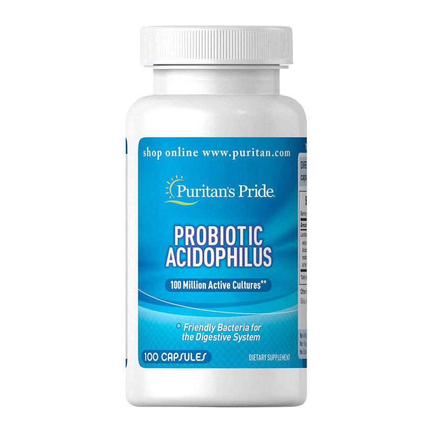 Пробиотик Puritan's Pride Probiotic Acidophilus 100 caps