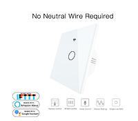 Сенсорный умный настенный  выключатель WiFi RF433 Smart Life Tuya