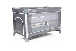 Кроватка-манеж 4baby Moderno Grey