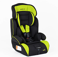 Автокресло для детей модель JOY 4530 G универсальное, цвет тёмно-синий с ярко-жёлтой отделкой,вес от 9 до36 кг