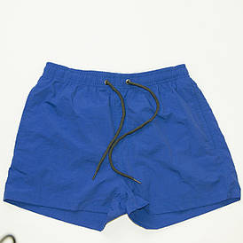 Мужские пляжные шорты для купания (арт. 201511/1) голубые L