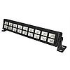 Led ультрафиолетовая панель 18х3 Вт с пультом ДУ DMX512, фото 4