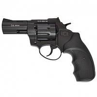 """Револьвер Stalker 3"""" zac чёрный матовый / чёрная рукоять"""