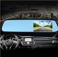 """Зеркало с монитором для камеры заднего и переднего вида в Авто 4.3"""" дюйма (М1-104)"""