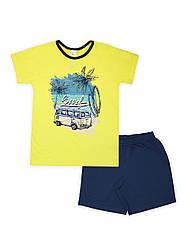 Пижама для мальчика с шортами СМИЛ р.122-164.