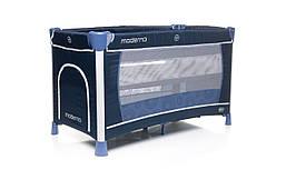 Кроватка-манеж 4baby Moderno Blue