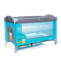 Кроватка-манеж 4baby Vegas Blue (4VG01)