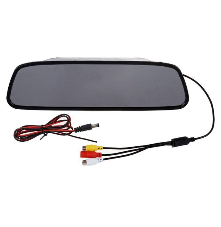 Зеркало-монитор для камер переднего и заднего вида в авто 5 дюймов (М2-104)