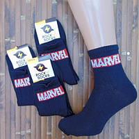 Носки с приколами демисезонные Rock'n'socks 444-63 MARVELL черные Украина one size (37-44р) 20009823, фото 1