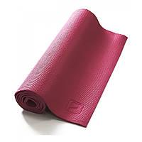 Коврик для йоги LiveUp PVC YOGA MAT, PVC, р-р 173х61х0.4см, розовый (LS3231-04p)