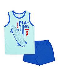 Пижама для мальчика с шортами Playing, СМИЛ р.122-140.
