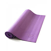 Коврик для йоги LiveUp PVC YOGA MAT, PVC, р-р 173х61х0.4см, фиолетовый (LS3231-04v)
