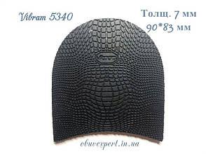 Набойка Vibram 5340 EXPLOSION р 20, толщ. 7 мм, цв. черный, фото 2
