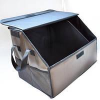 Складной Ящик-органайзер с крышкой в багажник автомобиля (АО-1007-8)