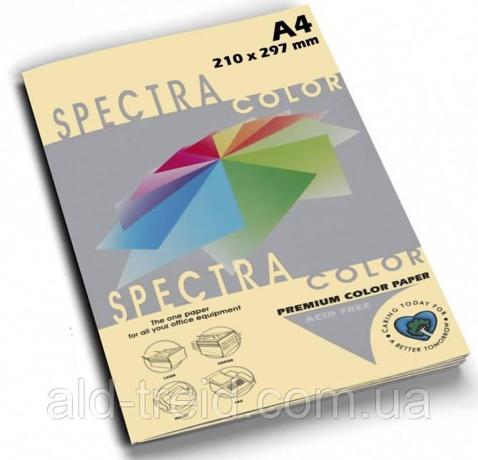 Папір кольоровий SPECTRA COLOR А4 160 г/м2 100 слонова кістка