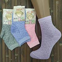 Носки детские сетка ажур для девочки Ира Т308 ассорти 26-31 размер,20007423