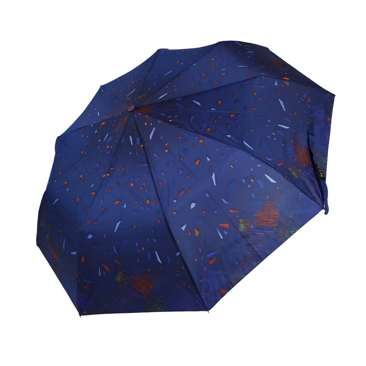 Женский зонт полуавтомат Max с яркими красочными принтами на 9 спиц, 3058-2