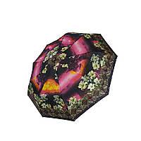 Женский зонт полуавтомат Max с яркими красочными принтами на 9 спиц, 3058-9