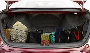 Сітка органайзер в багажник автомобіля 112*30*30 см (СБ-1008)