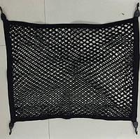 Сетка держатель двухслойная в багажник автомобиля 100*80 см (СБ-1007-2), фото 1