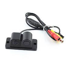 Парковочная камера с датчиком парковки 3в1. Видео Сенсор 3089 (КЗВ-201)
