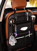 Органайзер автомобільний з екошкіри на спинку сидіння (АО-1006-4)