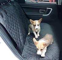Накидка - гамак на сидіння авто для перевезення тварин 144*175 см (АОЖ-506)