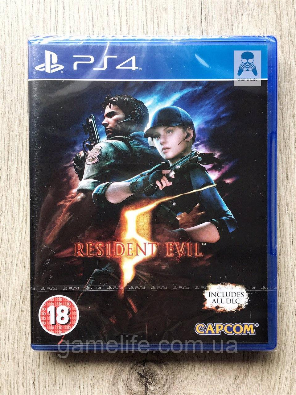 Resident Evil 5 (англ.) PS4