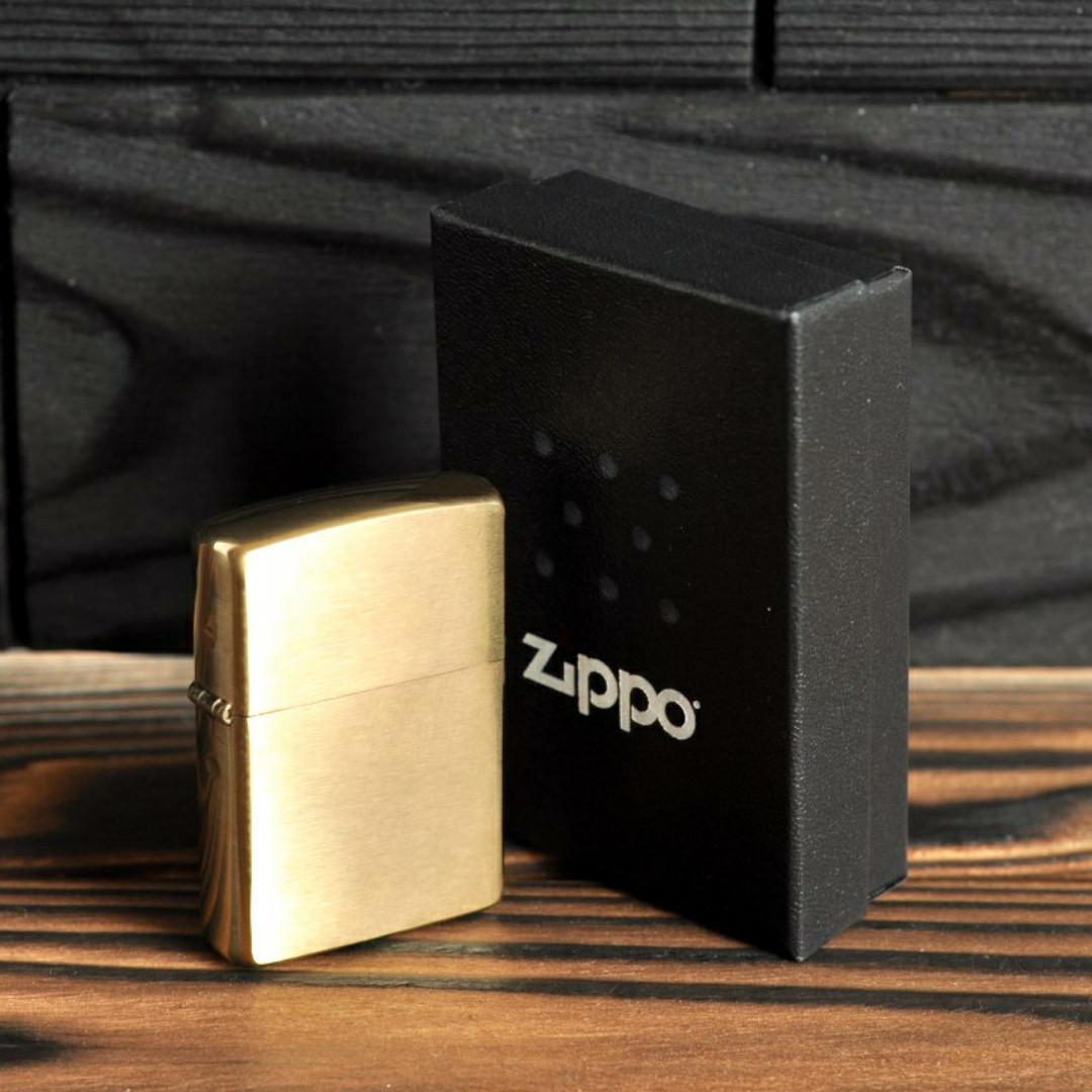 Зажигалка Zippo 204B CLASSIC brushed brass