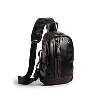 Рюкзак з екошкіри через плече (СР-1093)