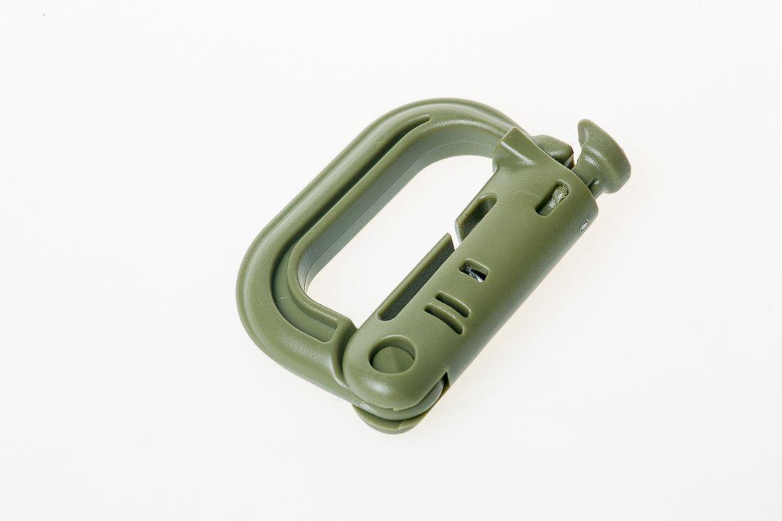 Карабин Tramp Grimlock оливковый TRA-214