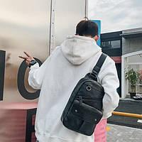 Рюкзак з екошкіри через плече (СР-1098)