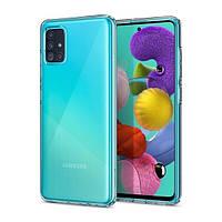 Накладка для Samsung Galaxy A515 A51 Spigen Liquid Crystal Crystal Clear