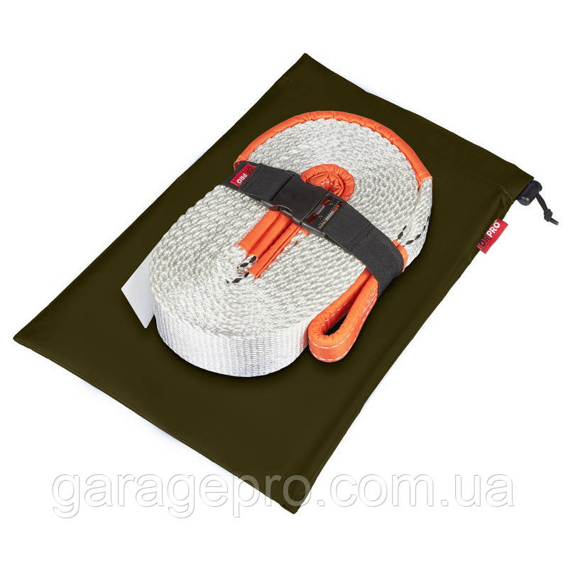 Грязезащитный мешок для динамической рывковой стропы 45х30 см (Зеленый)