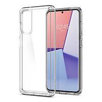 Накладка для Samsung Galaxy G980 S20 Spigen Crystal Hybrid Crystal Clear