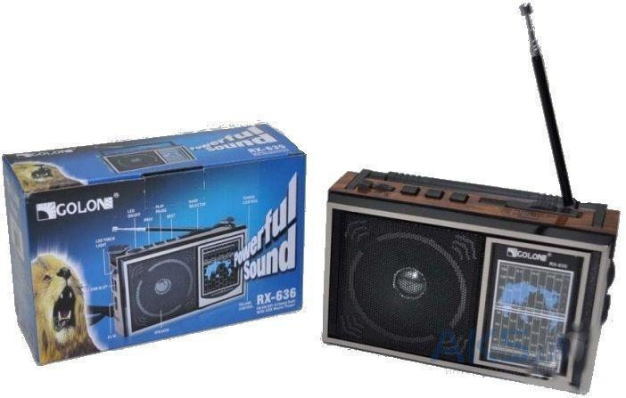 Радио приемник RADIO GOLON RX 636UAR