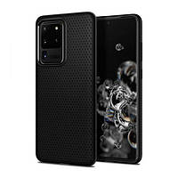 Накладка для Samsung Galaxy G985 S20 Plus Spigen Liquid Air Matte Black