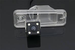 Камера заднего вида штатная для Hyundai Santa Fe IX45, XL 2013-2015. (КЗШ-1006)