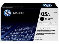 Тонер-картридж HP 05A LJ P2035/P2055d/2055dn Вlack 2300 страниц