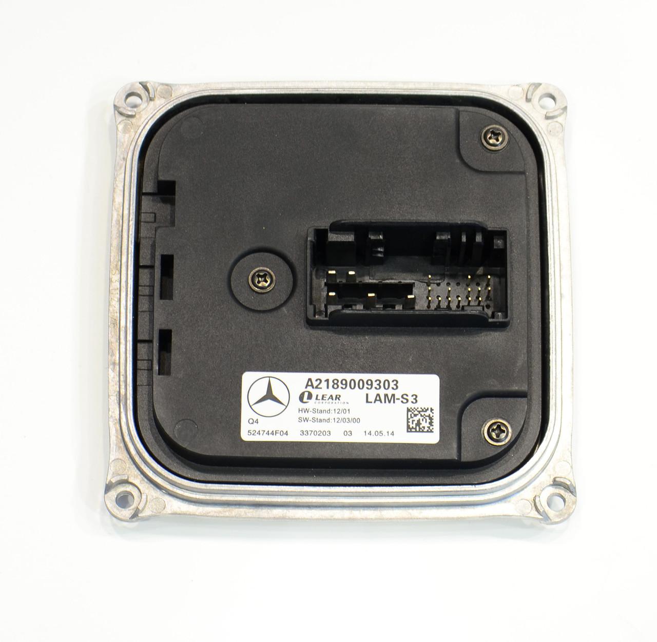 LED модуль блок фары A CLA GLA W176 C117 X117 W156 A2189009303