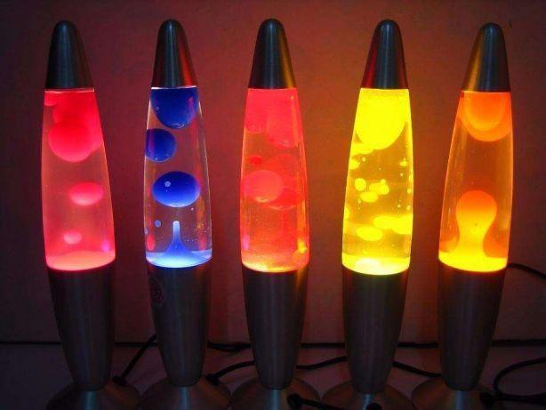 Лава лампа 42 см, парафиновая лампа (Lava lamp)