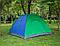 Туристическая палатка автомат  Leomax  2*1,5 метра, 2-х местная, Зеленая, фото 7