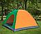 Туристическая палатка автомат  Leomax  2/2 метра, 4-х местная, Зеленая, фото 6