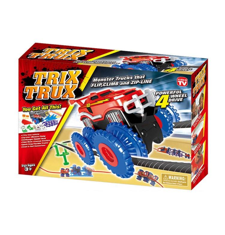 Детская дорога Trix Trux  Монстер трак канатная дорога
