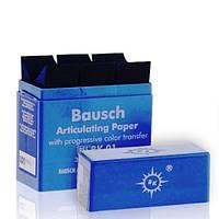 Артикуляционная бумага Бауш ВК 01 Bausch BK 01 синяя, фото 1