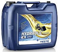 Гидравлическое масло Neste Hydraulic 46 Super