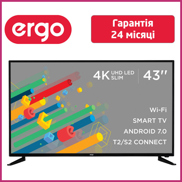 Телевизор LED ERGO 43CU6550AK